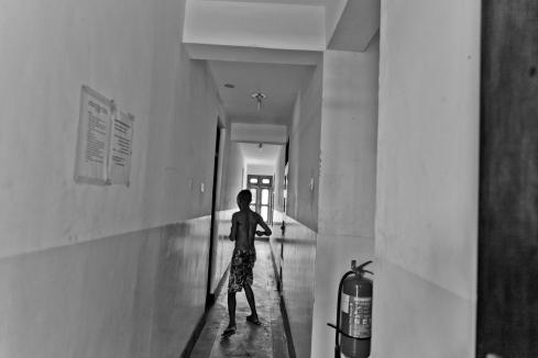 Le premier programme d'échange de seringues a été mis en place à Dar es-Salaam en 2010. Centre d'accueil pour les usagers de drogues, district de Temeke, Dar es-Salaam.