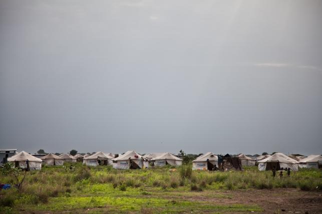 Leitchor, région de Gambella, Ethiopie. Le camp de réfugiés de Leitchor accueille entre 30 000 et 47 000 Sud-soudanais. Juin 2014.