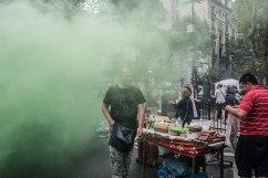 Manifestation contre les mesures d'austérité, Buenos Aires, Argentine, mars 2017
