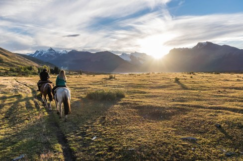 Estancia Nibepo Aike, Patagonie, Argentine, mars 2017