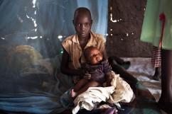 Leitchor, région de Gambella, Ethiopie. Le camp de réfugiés de Leitchor accueille entre 30 000 et 47 000 Sud-soudanais.