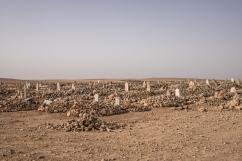 Cimetière, près de Journieh, Syrie.